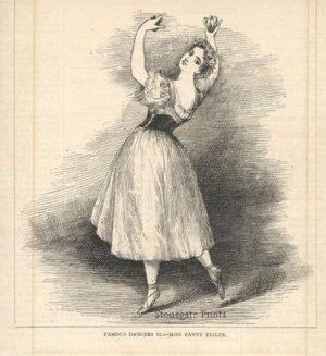 Famous Dancers-Miss Fanny Elsler