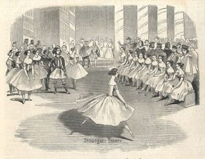 Madlle Cerito, in the Ballet of Alma c.1844