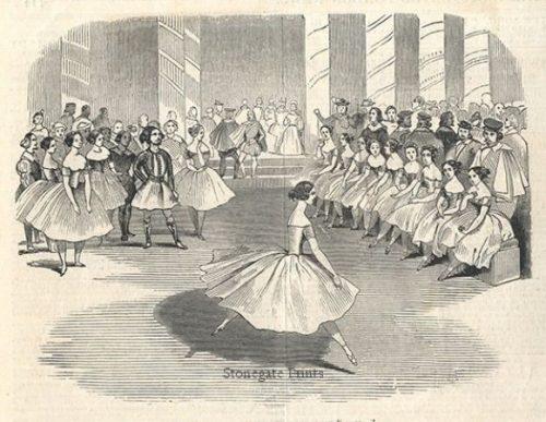 Madlle Cerito, in the Ballet of Alma c.1844