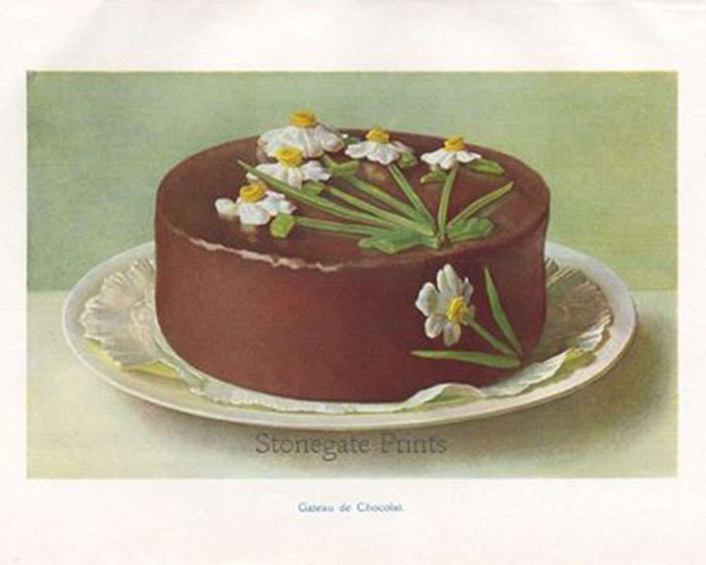 M.A. Fairclough, Chocolate Cake